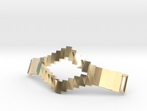 Tetris Bracelet in 14k Gold Plated