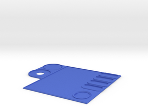 Ship Control Panel in Blue Strong & Flexible Polished