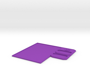 Imperial Fighter Control Panel in Purple Strong & Flexible Polished