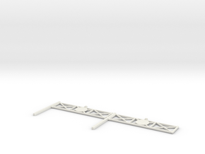 L-165-single-level-crossing-gate-x2-1a in White Strong & Flexible