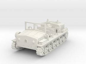 PV114A Type 98 Ro-Ke Artillery Tractor (28mm) in White Strong & Flexible