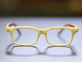 Optoid Hybrid MkXII: Custom Fit Rx Eyewear in White Strong & Flexible Polished