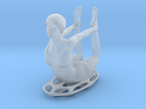Bow pose (2.5 cm) in Frosted Ultra Detail