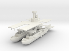 Netherlands Karel Class Carrier in White Strong & Flexible