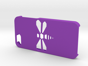 Bee iPhone 5/SE Case in Purple Strong & Flexible Polished