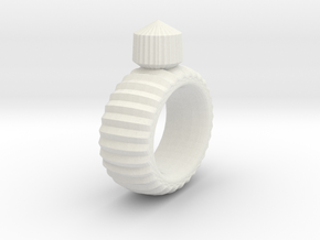 Craft Ring in White Strong & Flexible