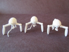 Three 21mm Support Tripods in White Strong & Flexible Polished
