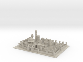 Winterfell in Sandstone