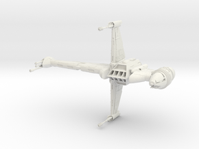 B Wing in White Strong & Flexible