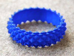 Studs Bracelet in Blue Strong & Flexible Polished