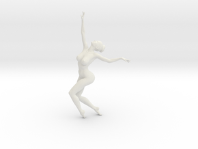 1/18 Nude Dancers 007 in White Strong & Flexible