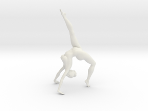 1/18 Nude Dancers 013 in White Strong & Flexible