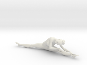 1/18 Nude Dancers 021 in White Strong & Flexible