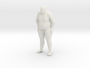 1/20 Fat Man 006 in White Strong & Flexible