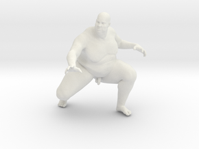 1/20 Fat Man 008 in White Strong & Flexible