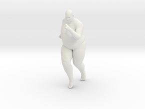 1/20 Fat Man 014 in White Strong & Flexible