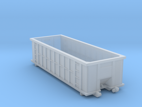 Industrial Dumpster 30yd - N 160:1 Scale in Frosted Ultra Detail