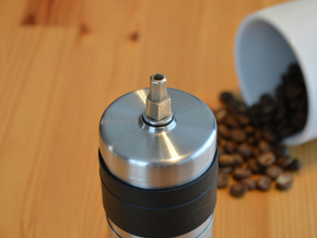Coffee Grinder Bit For Drill Driver CDP-RE in Stainless Steel