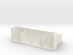 Kyosho Mini-Z F1 Rear wing in White Strong & Flexible