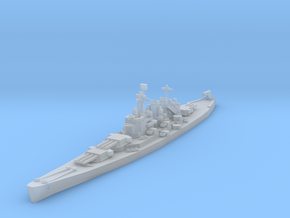 North Carolina class battleship 1/4800 in Frosted Ultra Detail