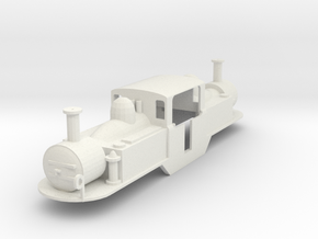 FR 0-4-4-0T Double Fairle Loco David Lloyd George in White Strong & Flexible