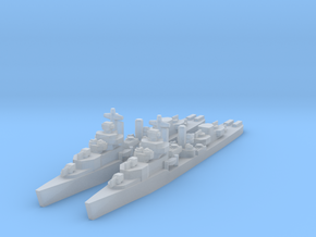 Mahan class destroyer 1/4800 x2 in Frosted Ultra Detail