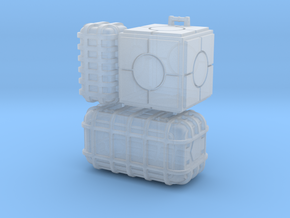 Star Wars cargo crates  in Frosted Ultra Detail