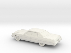 1/87 1974-78 Chrysler New Yorker Sedan in White Strong & Flexible