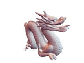 Stanford Dragon in White Strong & Flexible