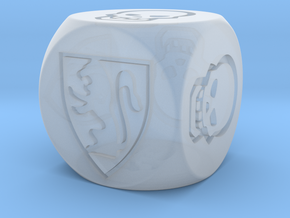 HeroQuest Die (16mm) in Frosted Extreme Detail