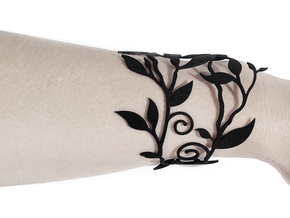 Branche Bracelet (LARGE) in Black Strong & Flexible