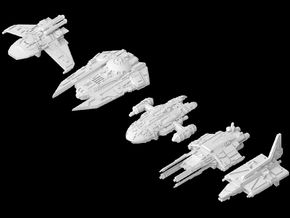 (Armada) Galaxies Gunships in Frosted Ultra Detail