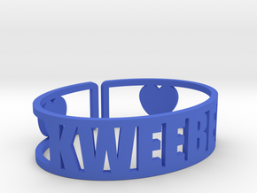 Kweebec Cuff in Blue Strong & Flexible Polished