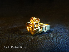 NOLA Claddagh, Ring Size 7 in White Strong & Flexible