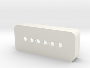 P-90 Pickup Cover in White Strong & Flexible