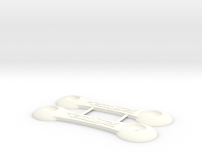 Losi XX Wing Things in White Strong & Flexible Polished