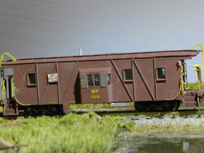 SN Caboose N Scale in Frosted Ultra Detail
