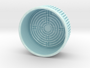 Flan's Labyrinth in Gloss Celadon Green Porcelain