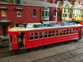 Auckland 1929 Tram - O Scale 1:43 (Part A) in Frosted Ultra Detail