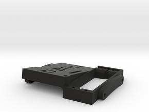 Axial SCX10 Single CMS + Battery Mount in Black Strong & Flexible