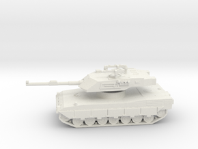 1/100 Ariete C1 Tank in White Strong & Flexible