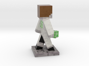 Jelly_Donutt Holding a Block in Full Color Sandstone
