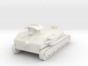 7US CruiserTank 15mm X1 in White Strong & Flexible