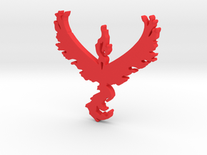 Team Valor - Pokemon Go in Red Strong & Flexible Polished
