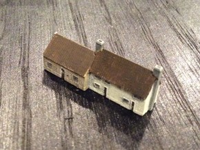 1:700 Scale Parham Village House #4 in Frosted Ultra Detail