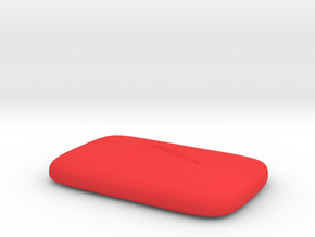Play button in Red Strong & Flexible Polished