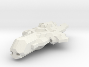 CGS Fighter (Starmade model) in White Strong & Flexible