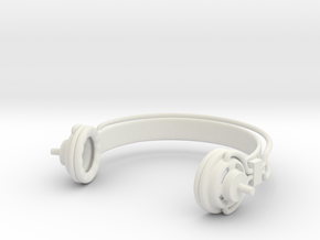 Headphones Super Sonico: doll 1/3 scale SD BJD in White Strong & Flexible