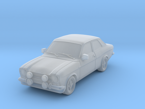1:87 Escort mk1 2 door mexico v1 hollow in Frosted Ultra Detail