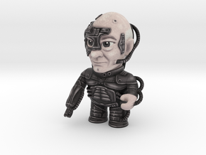 Tiny Trekkie: Locutus - Star Trek Caricature in Full Color Sandstone